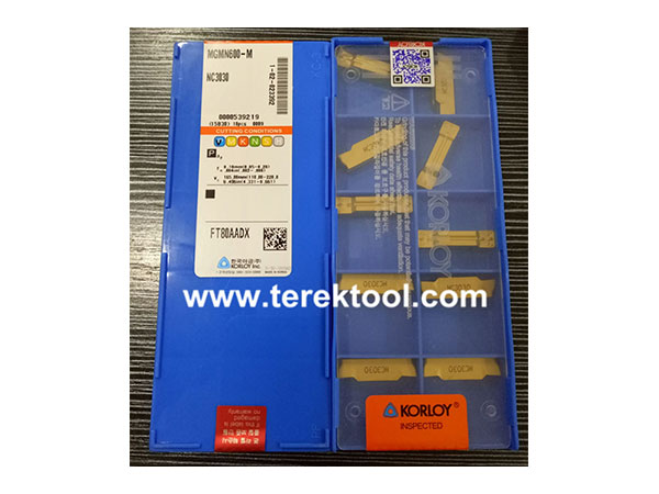 Korloy-Carbide-Inserts-MGMN600-M-NC3030